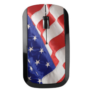 American Flag Wireless Mouse