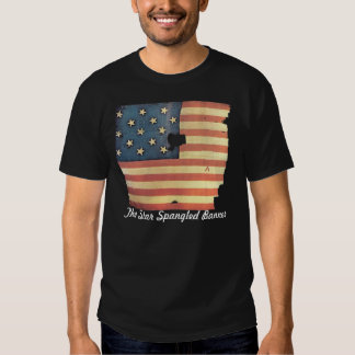 American Flag with 15 Stars - Star Spangled Banner Shirts
