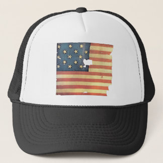 American Flag with 15 Stars - Star Spangled Banner Trucker Hat