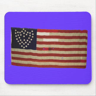American Flag with 36 Stars Mouse Pad