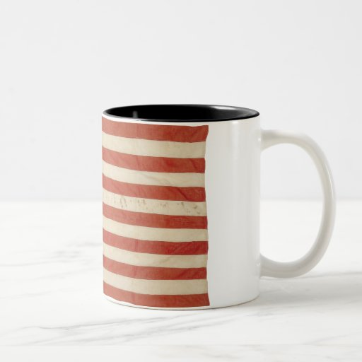 American Flag with 48 Stars Coffee Mug