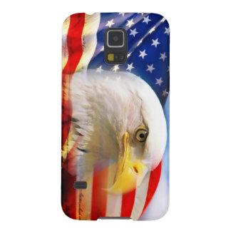 American Flag with Bald Eagle Samsung Galaxy Nexus Cover