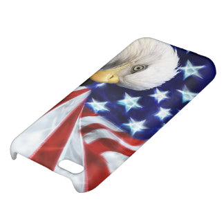 American Flag with Bald Eagle iPhone 5C Case
