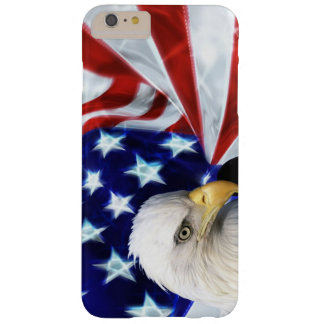 American Flag with Bald Eagle Patriotism Barely There iPhone 6 Plus Case