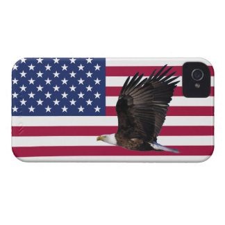 American Flag With Eagle iPhone 4/4S Case