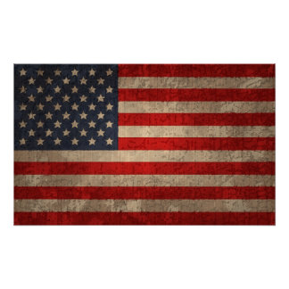 American Flag - xdist Poster