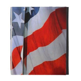 American Flags iPad Folio Case