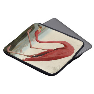 American Flamingo Laptop Sleeve