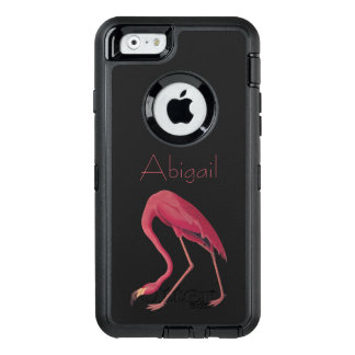 American Flamingo Vintage Aububon Birds of America OtterBox Defender iPhone Case