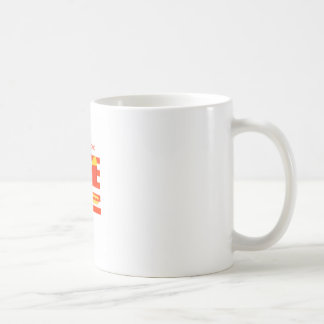 American Food. Basic White Mug