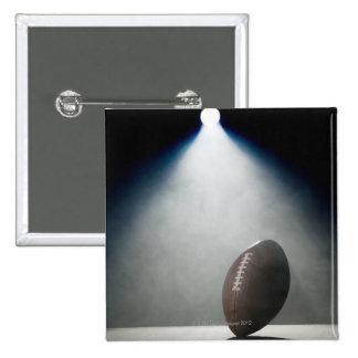 American Football 2 15 Cm Square Badge