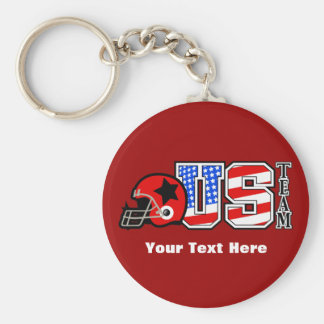 American Football 2 Key Chain
