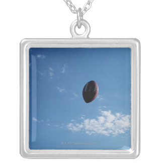 American Football 4 Square Pendant Necklace