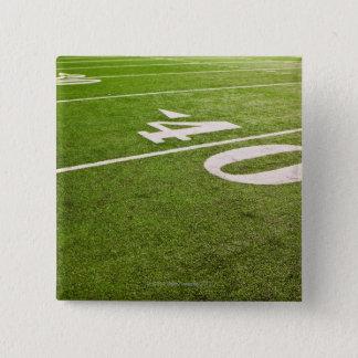 American Football 5 15 Cm Square Badge