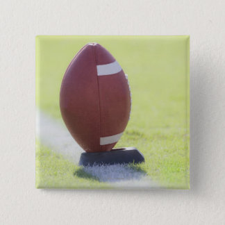American Football 6 15 Cm Square Badge