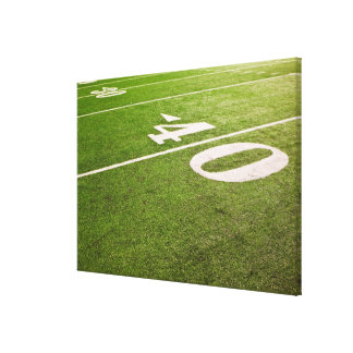 American Football 6 Canvas Print