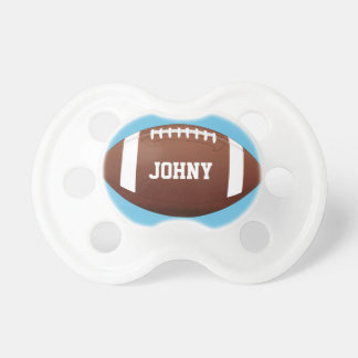 American Football Baby Boy Custom Name/Text Cute Dummy