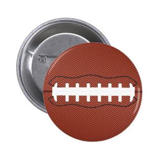 american football 6 cm round badge