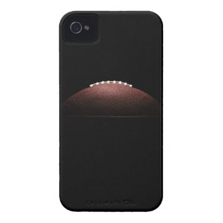 American football ball on black background iPhone 4 case