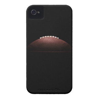 American football ball on black background iPhone 4 Case-Mate case