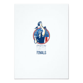 American Football Championship Game Finals Personalised Announcement