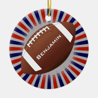American Football Design Ornament