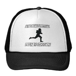 AMERICAN FOOTBALL designs Trucker Hats