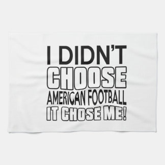 AMERICAN FOOTBALL DESIGNS TEA TOWEL