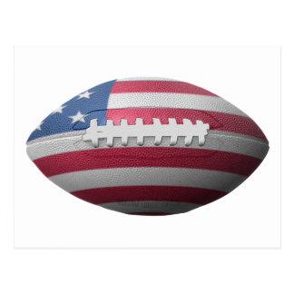 American Football Flag Postcards