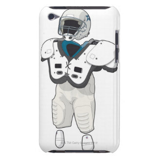 American football gear barely there iPod covers