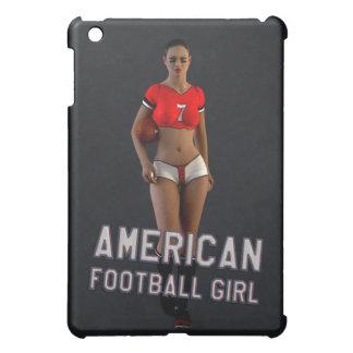 American Football Girl Chablis Cover For The iPad Mini