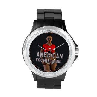 American Football Girl Chablis Watches