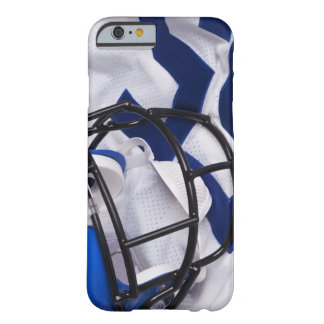American football helmet and shirt still life barely there iPhone 6 case