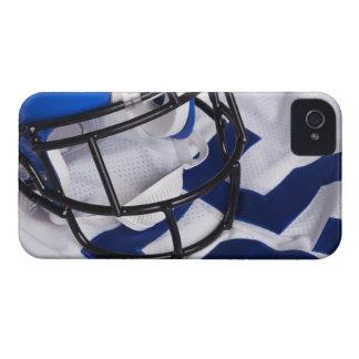 American football helmet and shirt still life iPhone 4 case