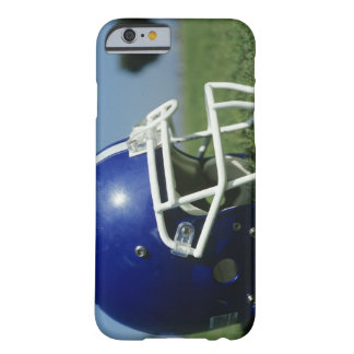 American football helmet in grass,close-up barely there iPhone 6 case