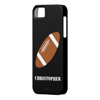 American Football Just Add Name iPhone 5 Cases