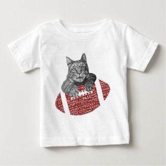 American Football Loving Cat Baby T-Shirt