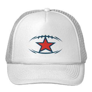 American football modernstyle star trucker hats