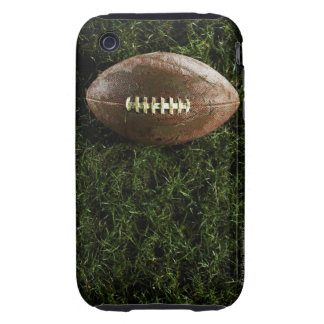 American football on grass, view from above tough iPhone 3 cover