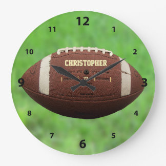 American Football Or Rugby Ball Clock