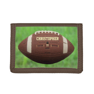 American Football Or Rugby Ball Wallet