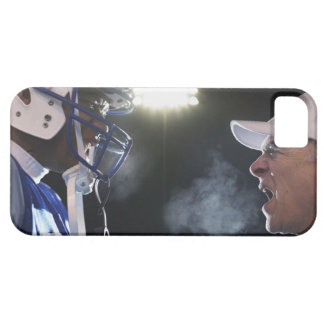 American football player and referee arguing, iPhone 5 covers