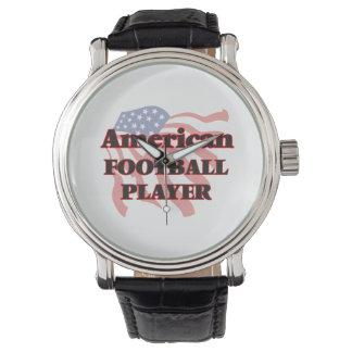 American Football Player Wrist Watch