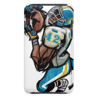 American football player holding ball barely there iPod case