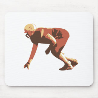american football player mouse mat