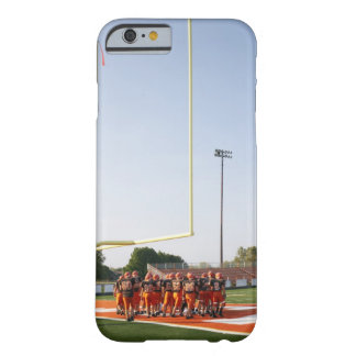 American football players, including teenagers barely there iPhone 6 case