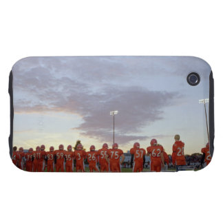American football players including teenagers iPhone 3 tough cases