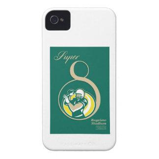 American Football QB Poster Art Case-Mate iPhone 4 Case