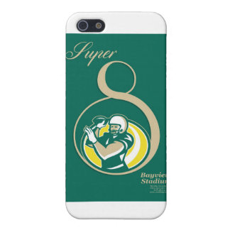 American Football QB Poster Art Case For The iPhone 5