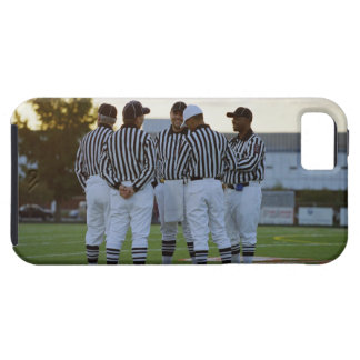 American football referees talking in field case for the iPhone 5